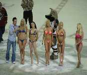 Bikini Contest At Hocky Game 7 12 2008
